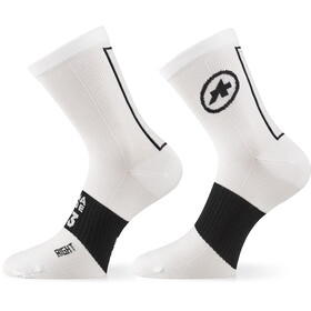 ASSOS Assosoires Chaussettes, holy white